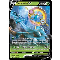 Dhelmise V 9/202 SWSH Base Set Holo Ultra Rare Pokemon Card NEAR MINT TCG