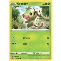 Grookey 11/202 SWSH Base Set Common Pokemon Card NEAR MINT TCG