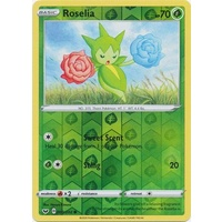 Roselia 3/202 SWSH Base Set Reverse Holo Common Pokemon Card NEAR MINT TCG