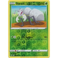 Durant 8/202 SWSH Base Set Reverse Holo Rare Pokemon Card NEAR MINT TCG