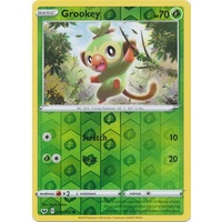Grookey 11/202 SWSH Base Set Reverse Holo Common Pokemon Card NEAR MINT TCG