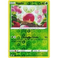 Applin 20/192 SWSH Rebel Clash Reverse Holo Common Pokemon Card NEAR MINT TCG