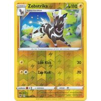 Zebstrika 54/185 Vivid Voltage Reverse Holo Uncommon Pokemon Card NEAR MINT TCG