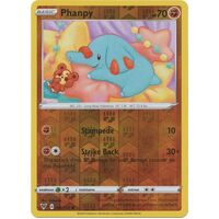 Phanphy 86/185 Vivid Voltage Reverse Holo Common Pokemon Card NEAR MINT TCG