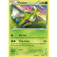 Virizion 12/98 XY Ancient Origins Holo Rare Pokemon Card NEAR MINT TCG