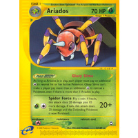 Ariados 3/147 E-Series Aquapolis Rare Pokemon Card NEAR MINT TCG