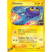 Chinchou 71/147 E-Series Aquapolis Common Pokemon Card NEAR MINT TCG