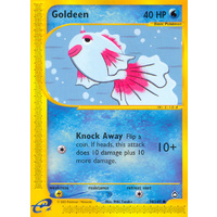 Goldeen 78/147 E-Series Aquapolis Common Pokemon Card NEAR MINT TCG