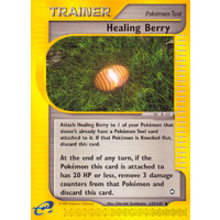 Healing Berry 125/147 E-Series Aquapolis Uncommon Trainer Pokemon Card NEAR MINT TCG