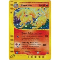 Ninetales H19/H32 E-Series Aquapolis Holo Rare Pokemon Card NEAR MINT TCG