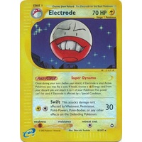 Electrode 8/147 E-Series Aquapolis Reverse Holo Rare Pokemon Card NEAR MINT TCG