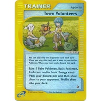 Town Volunteers 136/147 E-Series Aquapolis Reverse Holo Uncommon Trainer Pokemon Card NEAR MINT TCG
