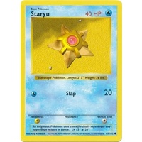 Staryu 65/102 Base Set Shadowless Common Pokemon Card NEAR MINT TCG