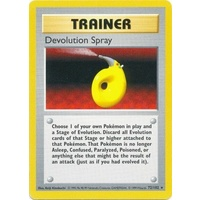 Devolution Spray 72/102 Base Set Shadowless Rare Trainer Pokemon Card NEAR MINT TCG