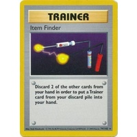 Item Finder 74/102 Base Set Shadowless Rare Trainer Pokemon Card NEAR MINT TCG