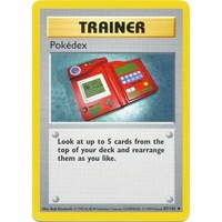 Pokedex 87/102 Base Set Shadowless Uncommon Trainer Pokemon Card NEAR MINT TCG