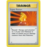 Super Potion 90/102 Base Set Shadowless Uncommon Trainer Pokemon Card NEAR MINT TCG