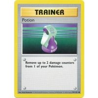 Potion 94/102 Base Set Shadowless Common Trainer Pokemon Card NEAR MINT TCG