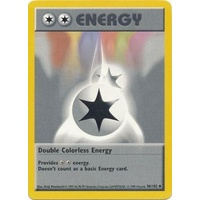 Double Colorless Energy 96/102 Base Set Shadowless Uncommon Pokemon Card NEAR MINT TCG