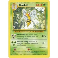 Beedrill 17/102 Base Set Unlimited Rare Pokemon Card NEAR MINT TCG
