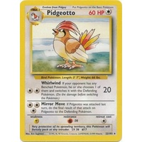 Pidgeotto 22/102 Base Set Unlimited Rare Pokemon Card NEAR MINT TCG