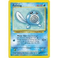 Poliwag 59/102 Base Set Unlimited Common Pokemon Card NEAR MINT TCG