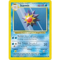 Starmie 64/102 Base Set Unlimited Common Pokemon Card NEAR MINT TCG