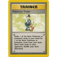 Pokemon Trader 77/102 Base Set Unlimited Rare Trainer Pokemon Card NEAR MINT TCG