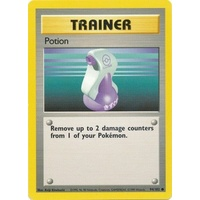Potion 94/102 Base Set Unlimited Common Trainer Pokemon Card NEAR MINT TCG