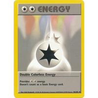 Double Colorless Energy 96/102 Base Set Unlimited Uncommon Pokemon Card NEAR MINT TCG