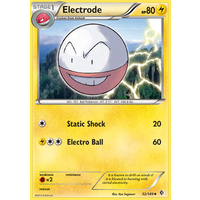 Electrode 52/149 BW Boundaries Crossed Uncommon Pokemon Card NEAR MINT TCG