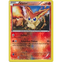 Victini 23/149 BW Boundaries Crossed Reverse Holo Rare Pokemon Card NEAR MINT TCG