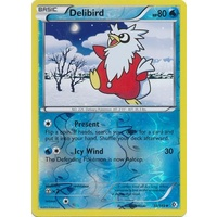 Delibird 38/149 BW Boundaries Crossed Reverse Holo Uncommon Pokemon Card NEAR MINT TCG