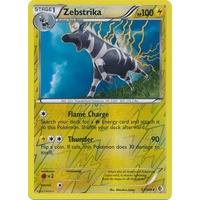 Zebstrika 57/149 BW Boundaries Crossed Reverse Holo Rare Pokemon Card NEAR MINT TCG