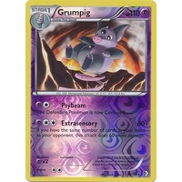 Grumpig 60/149 BW Boundaries Crossed Reverse Holo Rare Pokemon Card NEAR MINT TCG