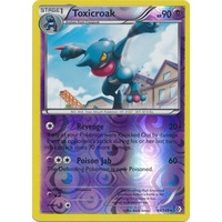 Toxicroak 66/149 BW Boundaries Crossed Reverse Holo Rare Pokemon Card NEAR MINT TCG