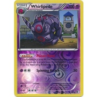 Whirlipede 73/149 BW Boundaries Crossed Reverse Holo Uncommon Pokemon Card NEAR MINT TCG