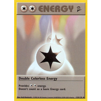 Double Colorless Energy 124/130 Base Set 2 Uncommon Pokemon Card NEAR MINT TCG