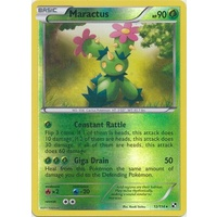 Maractus 12/114 BW Base Set Reverse Holo Rare Pokemon Card NEAR MINT TCG