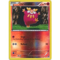 Darumaka 24/114 BW Base Set Reverse Holo Uncommon Pokemon Card NEAR MINT TCG