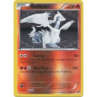 Reshiram 26/114 BW Base Set Reverse Holo Rare Pokemon Card NEAR MINT TCG
