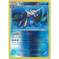 Samurott 32/114 BW Base Set Reverse Holo Rare Pokemon Card NEAR MINT TCG