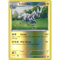 Zebstrika 42/114 BW Base Set Reverse Holo Uncommon Pokemon Card NEAR MINT TCG