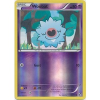 Woobat 50/114 BW Base Set Reverse Holo Common Pokemon Card NEAR MINT TCG