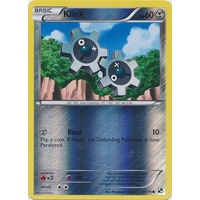 Klink 74/114 BW Base Set Reverse Holo Common Pokemon Card NEAR MINT TCG