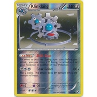Klinklang 76/114 BW Base Set Reverse Holo Rare Pokemon Card NEAR MINT TCG