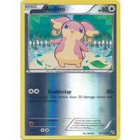 Audino 87/114 BW Base Set Reverse Holo Uncommon Pokemon Card NEAR MINT TCG