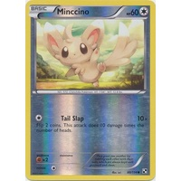Minccino 88/114 BW Base Set Reverse Holo Common Pokemon Card NEAR MINT TCG
