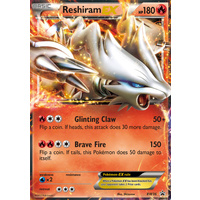 Reshiram EX BW36 BW Black Star Promo Pokemon Card NEAR MINT TCG