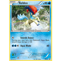 Keldeo BW60 BW Black Star Promo Pokemon Card NEAR MINT TCG